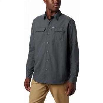Columbia Camisa Manga Larga Silver Ridge 2.0 hombre Gris