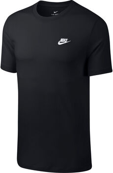 Nike Camiseta Sportswear Club hombre Negro