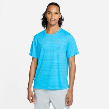 Nike Camiseta manga corta Dri-FIT Miler hombre Azul