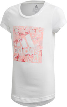 adidas Camiseta manga corta Must Haves Doodle Badge of Sport niño