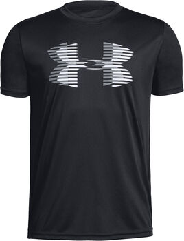 Under Armour Camiseta m/c Tech Big Logo Solid Tee niño Negro