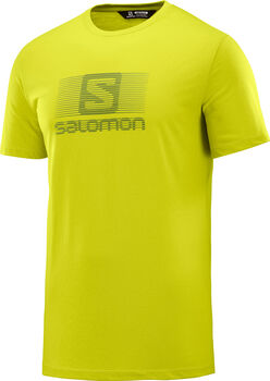 Salomon Camiseta m/c CAMISA MC BLEND LOGO SS TEE M hombre