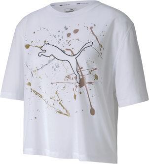 Camiseta Manga Corta Metal Splash Graphic
