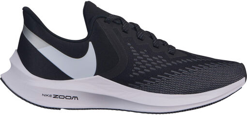 Nike -  Air Zoom Winflo 6 - Mujer - Zapatillas Running - Negro - 36dot5