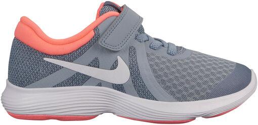 Nike - Zapatilla NIKE REVOLUTION 4 (PSV) - Unisex - Zapatillas Running - Gris - 27dot5