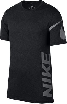 Nike Breathe Camiseta Manga Corta Hombre Negro