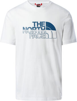 The North Face Camiseta manga corta Campay hombre Blanco