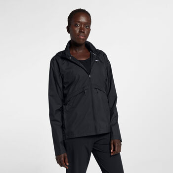 Nike  ESSNTL JKT SSNL mujer Negro