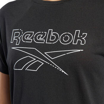 Reebok Camiseta de manga corta Wor Sup  mujer