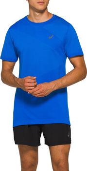 ASICS Camiseta TOKYO SEAMLESS SS hombre Azul