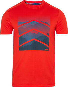 McKINLEY Camiseta Manga Corta Rakka ux hombre Rojo