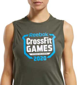 Reebok Camiseta RC Games Crest mujer
