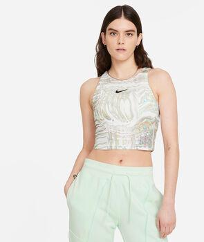 Nike Top Aop Print mujer Blanco
