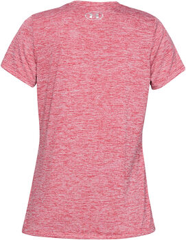 Under Armour Camiseta con cuello de pico UA Tech™ difuminada para mujer Naranja