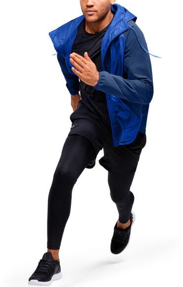Chaqueta con cremallera completa UA Stretch Woven para hombre