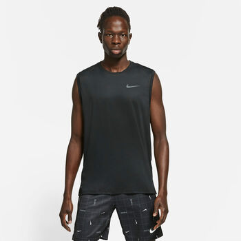 Nike Camiseta Sin Mangas Pro Dri-Fit hombre Negro