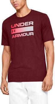 Under Armour Camiseta m/c TEAM ISSUE WORDMARK SS hombre Rojo