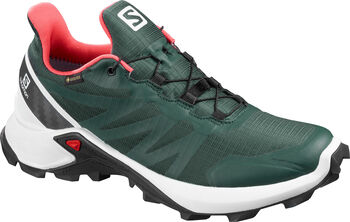 Salomon Zapatillas trail running SUPERCROSS GTX mujer Verde