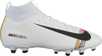 Nike Botas fútbol Superfly 6 Academy GS CR7 MG niño Blanco