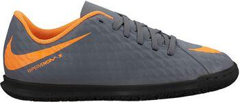 Botas fútbol sala Nike Hypervenom JR PhantomX 3 Club IC  Gris