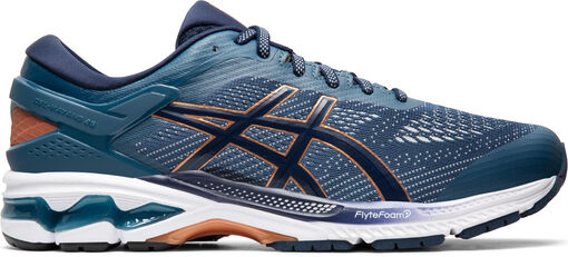 Asics - Zapatilla de running GEL-KAYANO? 26 - Hombre - Zapatillas Running - Azul - 42