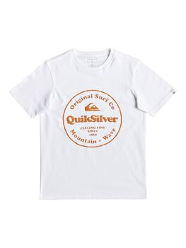 Quiksilver Secret Ingredient - Camiseta para Chicos 8-16 niño