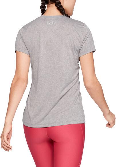 Camiseta de manga corta con cuello de pico y estampado Tech™
