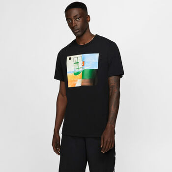 Nike Camiseta m/c M NK DRY TEE SC BB PHOTO hombre