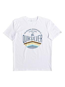 Quiksilver Sunset Logo - Camiseta para Hombre