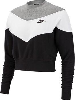Nike Camiseta m/l W NSW HRTG CREW SB mujer