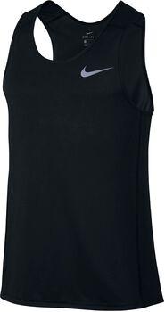 Nike Dry Miler Tank Hombre Negro