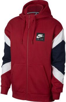 Nike SportsWear Air Hoodie FZ FLC hombre Rojo