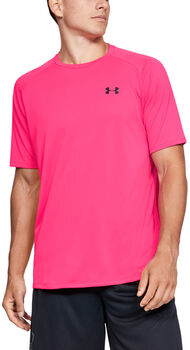 Under Armour Camiseta m/c  Tech SS Tee hombre Rosa