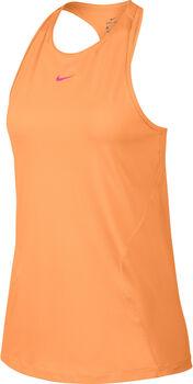 Camiseta Nike Pro mujer Naranja