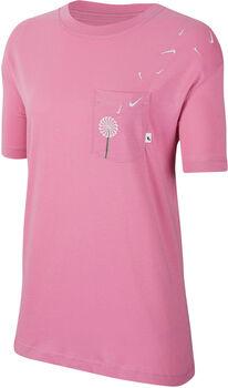 Nike Camiseta Manga Corta W NSW TEE NOVEL-TEE 2 PKT mujer