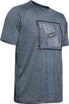 Camiseta m/c Tech Graphic SS-BLK