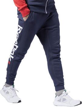 Reebok Pantalón de chándal Training Essentials Logo hombre
