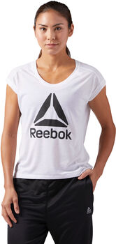 Reebok WOR Supremium 2.0 Tee Big Logo Mujer Blanco