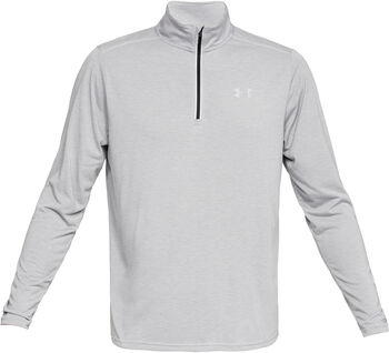 Under Armour Camiseta con cremallera corta Threadborne™ Streaker Run para hombre