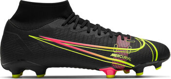 Botas de fútbol Nike Mercurial Superfly 8 hombre Negro