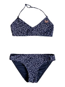 Seaside Lover - Conjunto de Bikini Triangular Bralette para Chicas 8-16