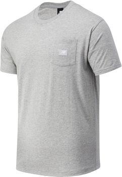 New Balance Camiseta Manga Corta Athletics Pocket hombre