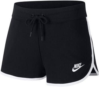 Nike Nsw HRTG SHORT FLC mujer Negro