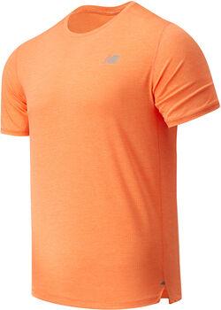 New Balance Camiseta Manga Corta Impact hombre Naranja