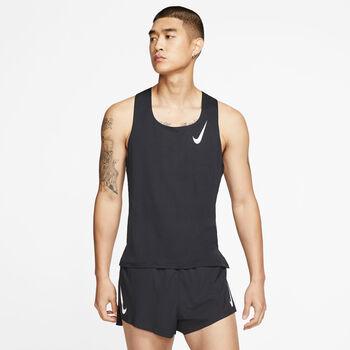 Nike Camiseta de tirantes AeroSwift  hombre Negro