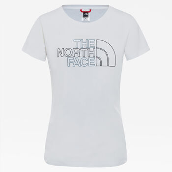 The North Face Camiseta Manga Corta Lifestyle mujer Blanco