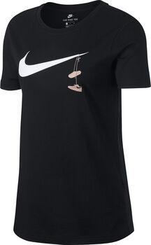 Nike Sportswear tee swsh shoes embrd mujer