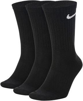 Nike Calcetines Largos Everyday (3 Pares) Negro
