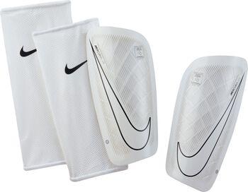 Espinilleras fútbol Nike Mercurial Lite Blanco