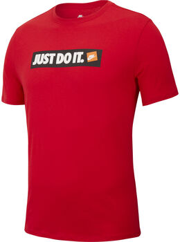 Nike m nsw tee hbr 1 hombre Rojo